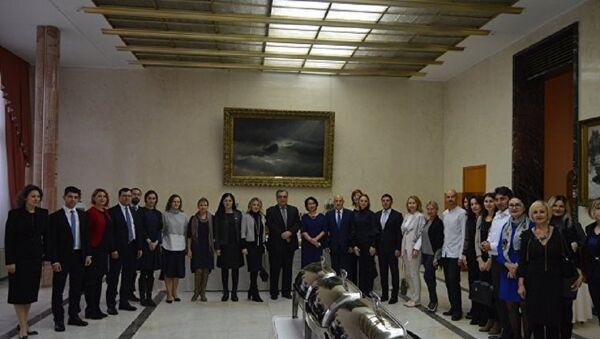 Sovyet ve Rus üniversitelerinin mezunları Ankara'da bir araya geldi - Sputnik Türkiye