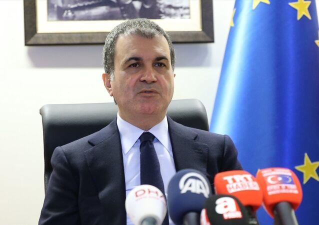 Ömer Çelik, Brüksel'de basın toplantısı düzenleyerek AB ile gelinen son nokta konusunda bilgiler verdi