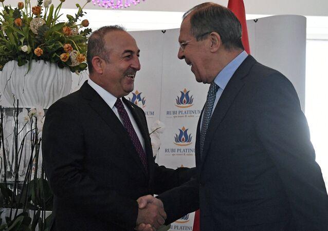 Sergey Lavrov - Mevlüt Çavuşoğlu