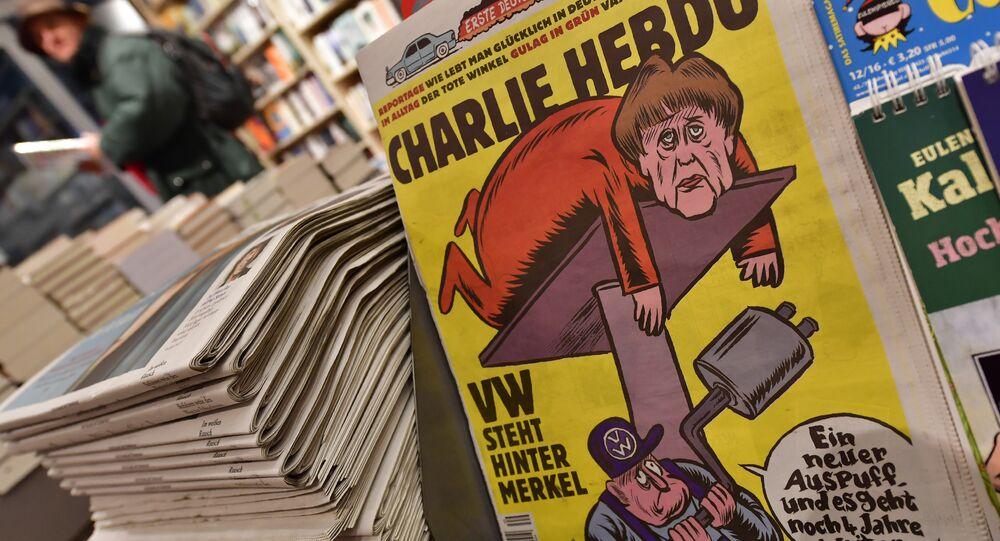 Charlie Hebdo ilk Almanca edisyonunu yayınladı