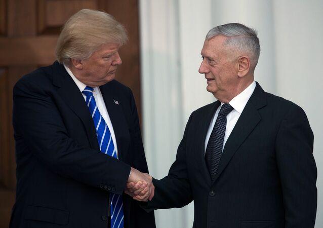 ABD Başkanı seçilen Donald Trump - Emekli General James Mattis