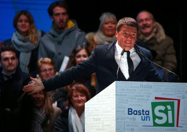 Matteo Renzi / Anayasa referandumu