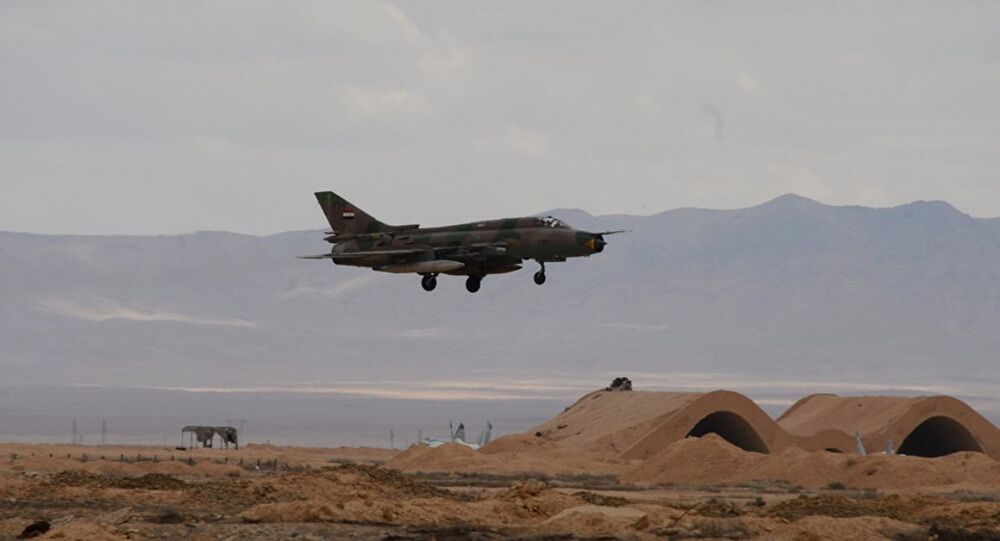 Suriye ordusuna ait uçak