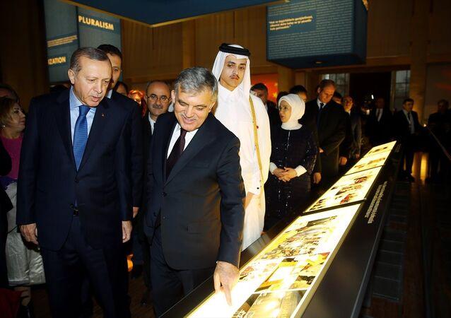 Cumhurbaşkanı Erdoğan ve 11. Cumhurbaşkanı Abdullah Gül