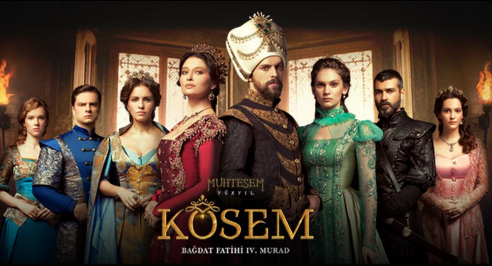 Rusya'da yoğun ilgi gören Muhteşem Yüzyıl Kösem dizisi 7 Ocak'ta Rus Domaşnıy televizyonunda seyirciyle buluşacak.