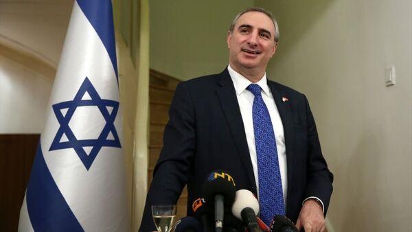 İsrail'in Ankara Büyükelçisi Eitan Naeh - Sputnik Türkiye