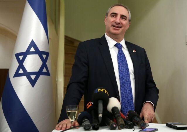 İsrail'in Ankara Büyükelçisi Eitan Naeh