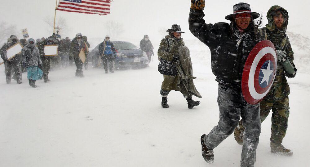 Kuzey Dakota'daki boru hattı eylemcileri