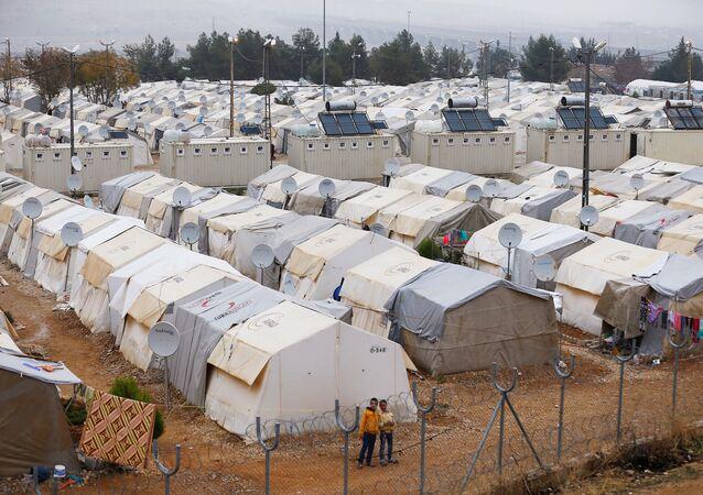 Gaziantep'teki Nizip sığınmacı kampı / Suriyeli sığınmacılar