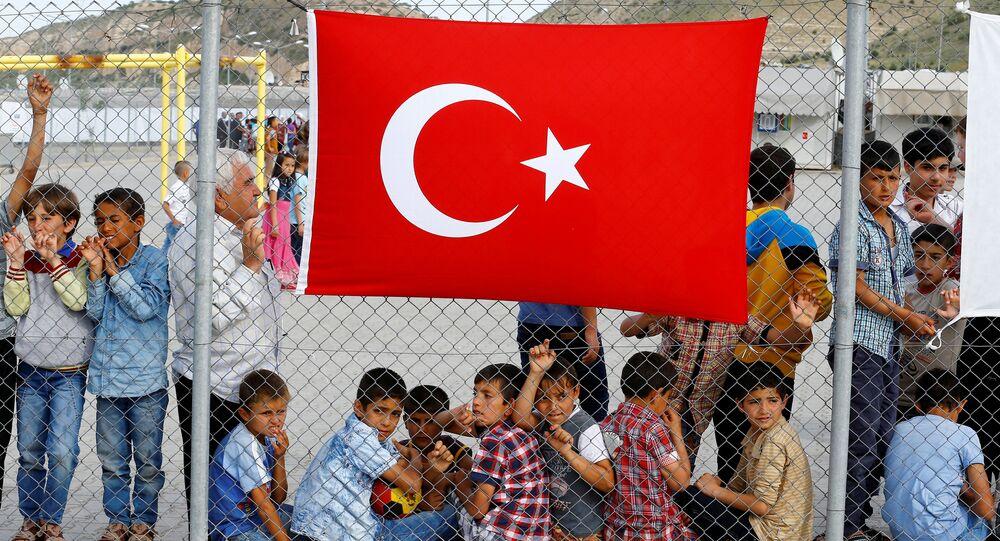 Gaziantep'teki Nizip sığınmacı kampı / Türkiye'deki çocuk sığınmacılar