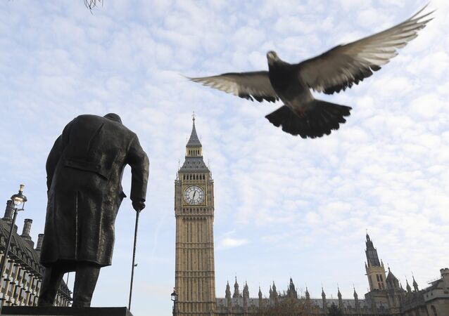 İngiltere parlamentosu / Winston Churchill