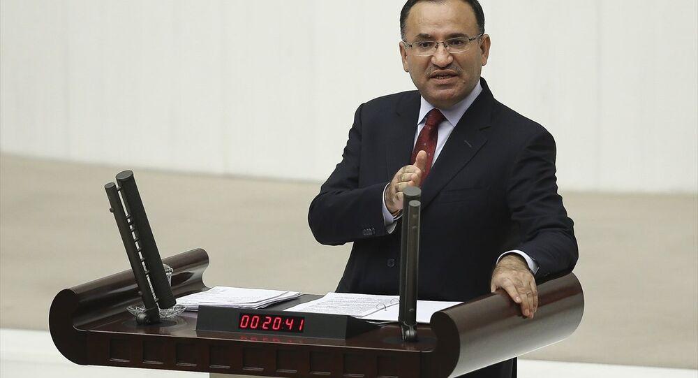Adalet Bakanı Bekir Bozdağ