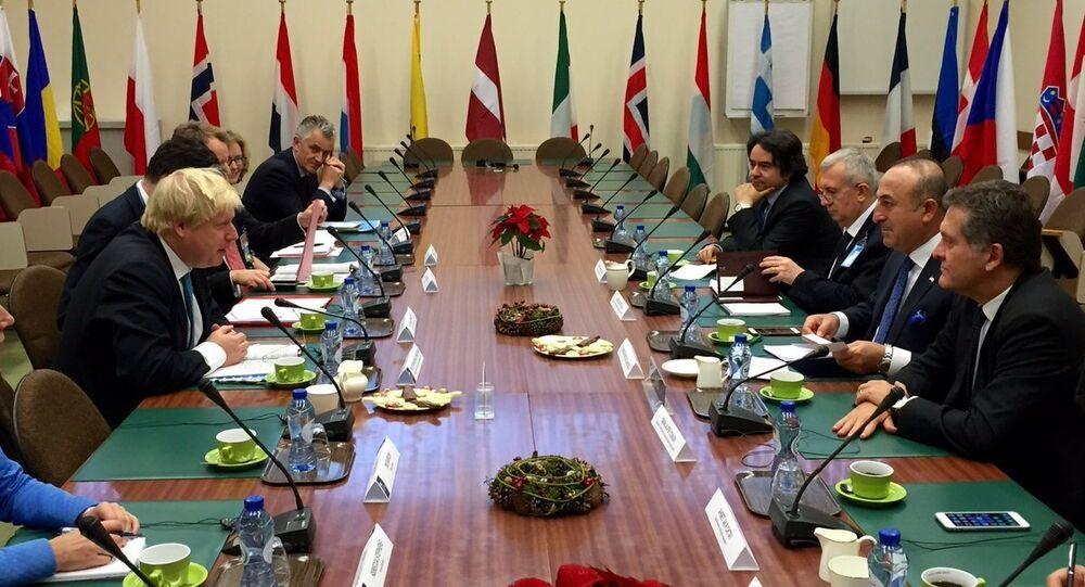 Dışişleri Bakanı Mevlüt Çavuşoğlu ve İngiliz mevkidaşı Boris Johnson