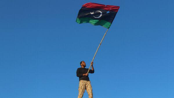 Libya - Sirte / Libya bayrağı - Sputnik Türkiye