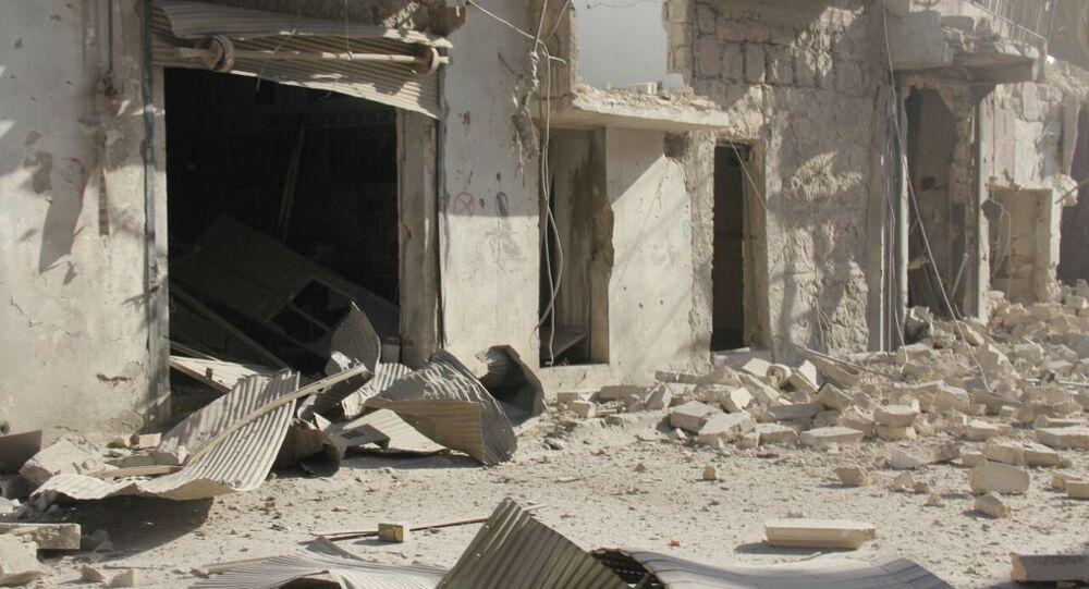 Halep'teki çatışmalardan arda kalanlar