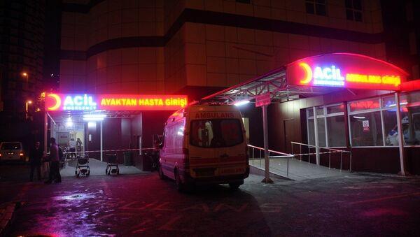 hastane -acil - Sputnik Türkiye