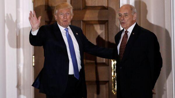 Donald Trump ve John Kelly - Sputnik Türkiye