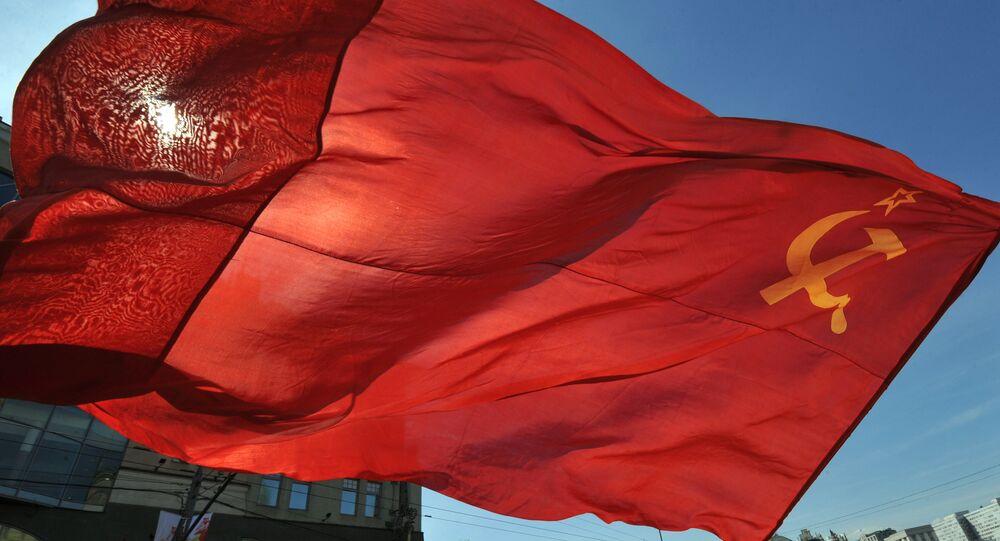 Sovyet Sosyalist Cumhuriyetler Birliği bayrağı