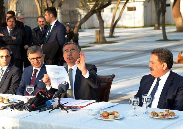 Milli eğitim Bakanı İsmet Yılmaz, Adile Sultan Kasrı Öğretmenevi'nde PISA sonuçlarıyla ilgili açıklamada bulundu