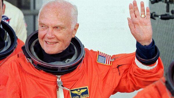 ABD'li astronot ve eski senatör John Glenn - Sputnik Türkiye