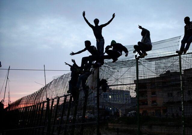 Ceuta - göçmen
