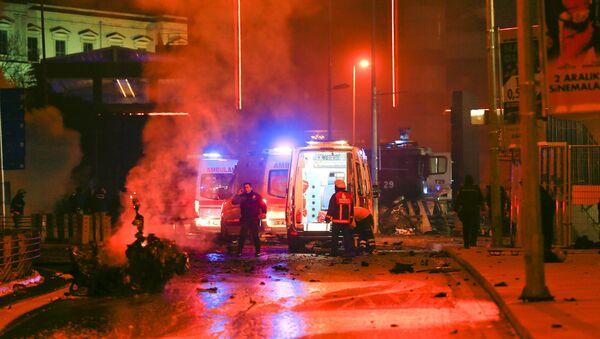 İstanbul'da patlama - Sputnik Türkiye