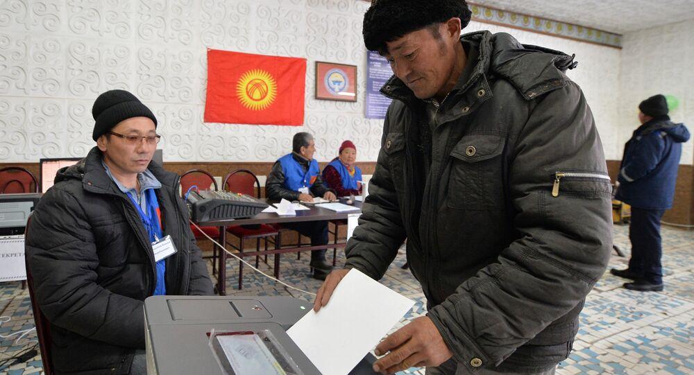 Kırgızistan'da seçim
