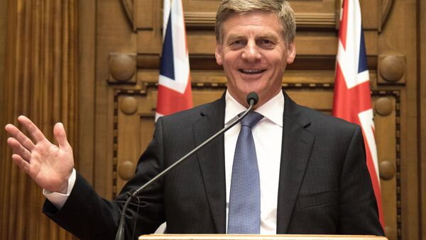 Yeni Zelanda Başbakanı Bill English - Sputnik Türkiye