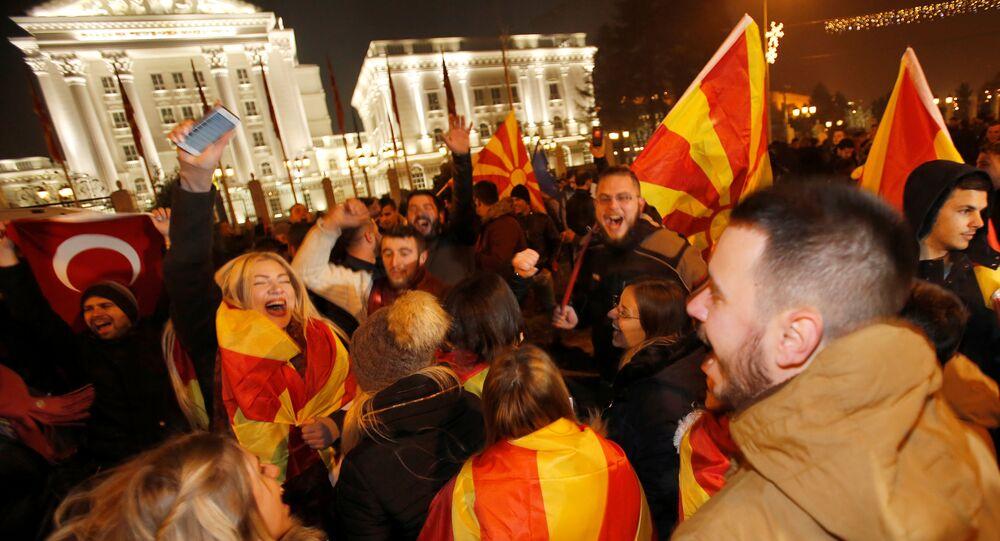 Makedonya'da parlamento seçimleri
