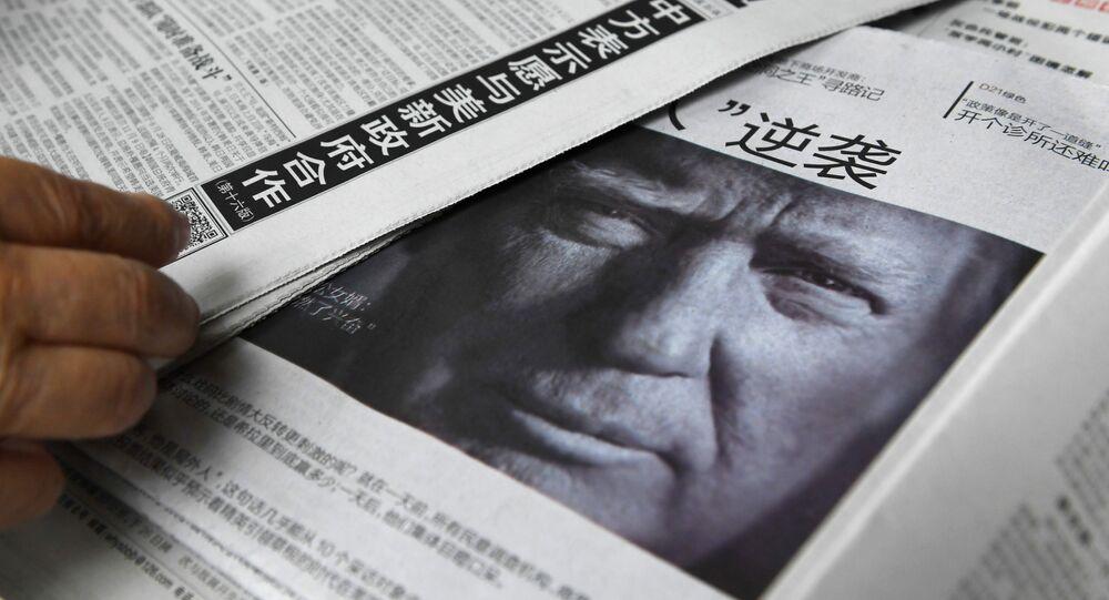 Trump'ın tavrı Çin medyasında sert şekilde eleştirildi