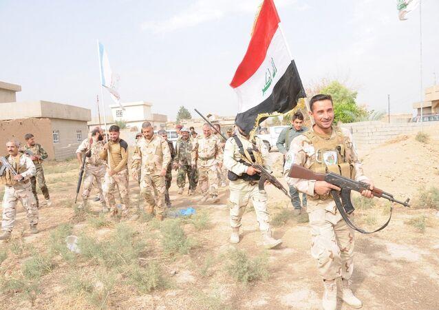 Irak ordusu ve Haşdi Şabi milisleri