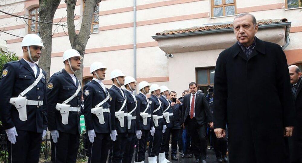 Erdoğan'dan Çevik Kuvvet'e ziyaret