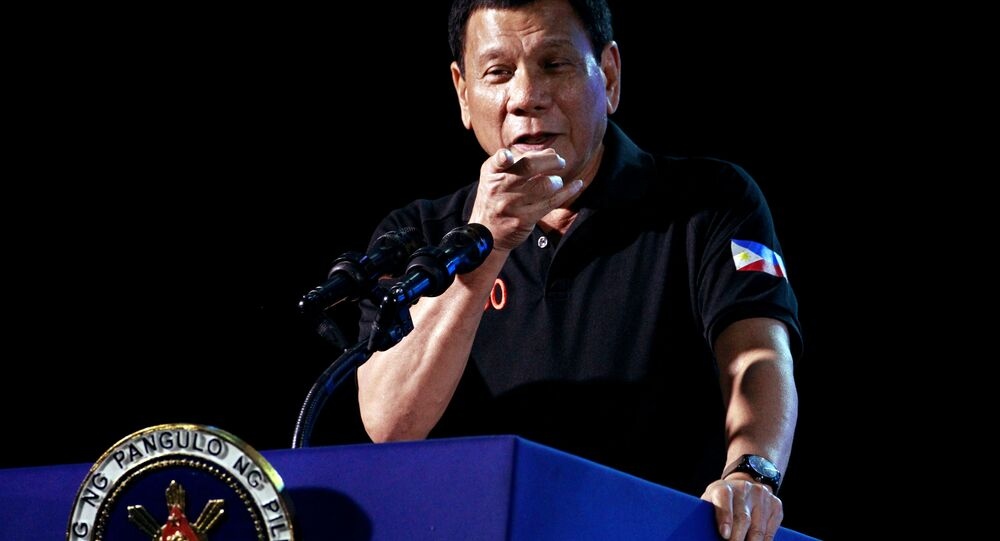 Filipinler Devlet Başkanı Rodrigo Duterte
