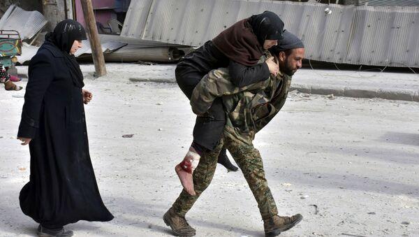 Cihatçılardan temizlenen Halep'ten ilk kareler - Sputnik Türkiye