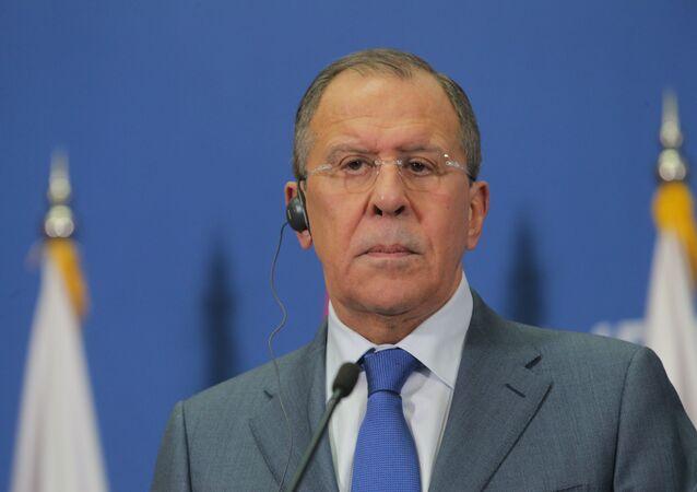 Sergey Lavrov, Sırbistan'da