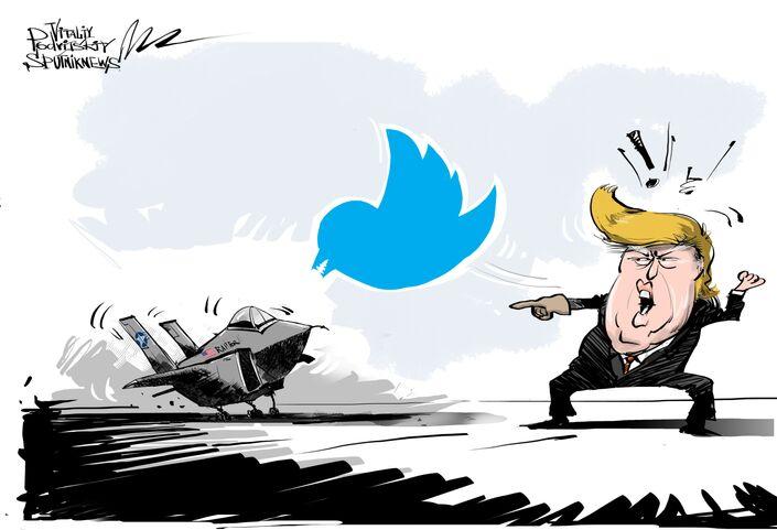 Donald Trump. Twitter