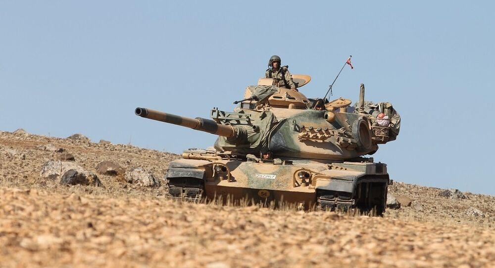 Suriye'deki Fırat Kalkanı operasyonuna katılan Türk askerleri