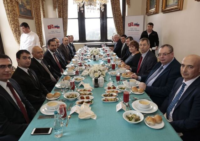 Türk-Rus Toplumsal Forumu toplantısı