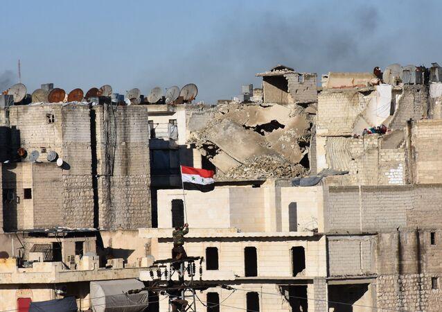 Halep'teki tahliye süreci