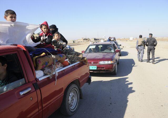 Siviller, Halep'ten Afrin ve Şehba'ya doğru göç ediyor