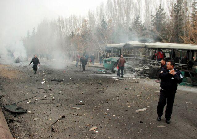 Kayseri'de patlama