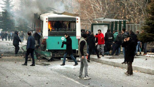 Kayseri'deki saldırı - Sputnik Türkiye