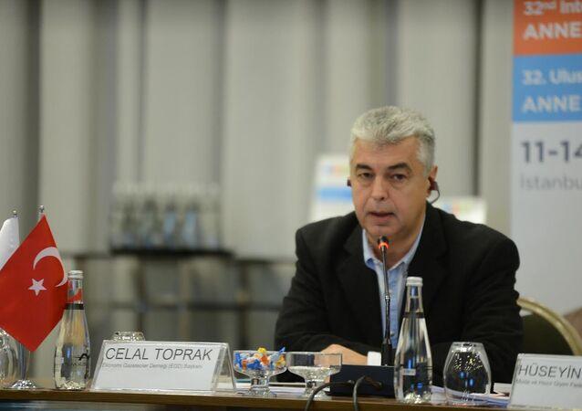 Türkiye Ekonomi Gazetecileri Derneği (EGD) Başkanı Celal Toprak