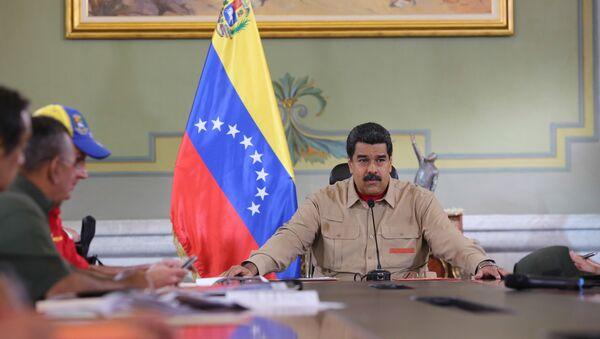 Venezüella Devlet Başkanı Nicholas Maduro - Sputnik Türkiye