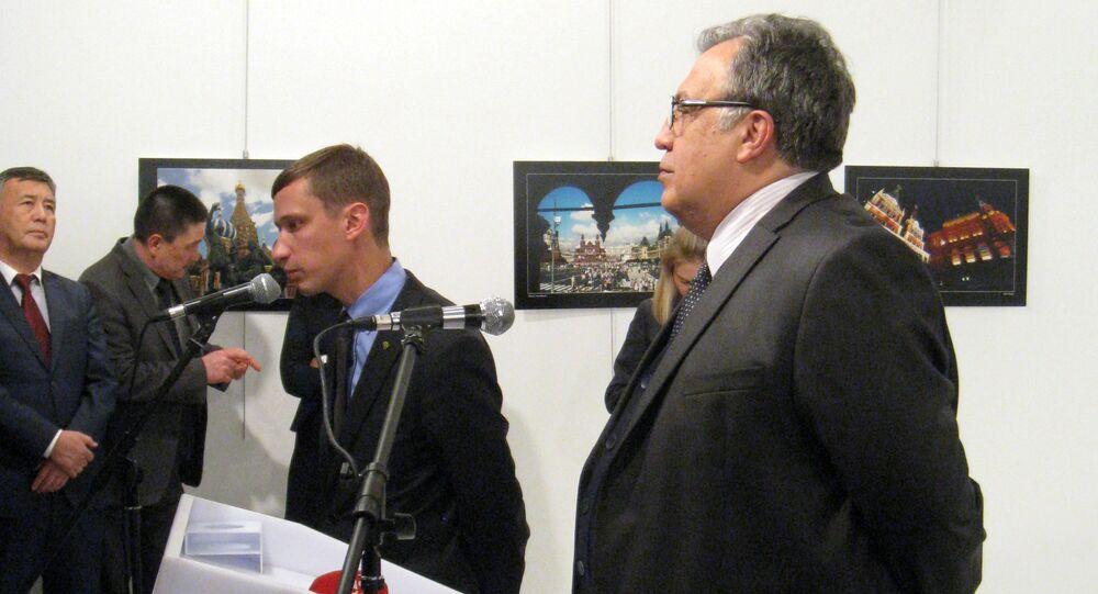 Rusya'nın Ankara Büyükelçisi Andrey Karlov