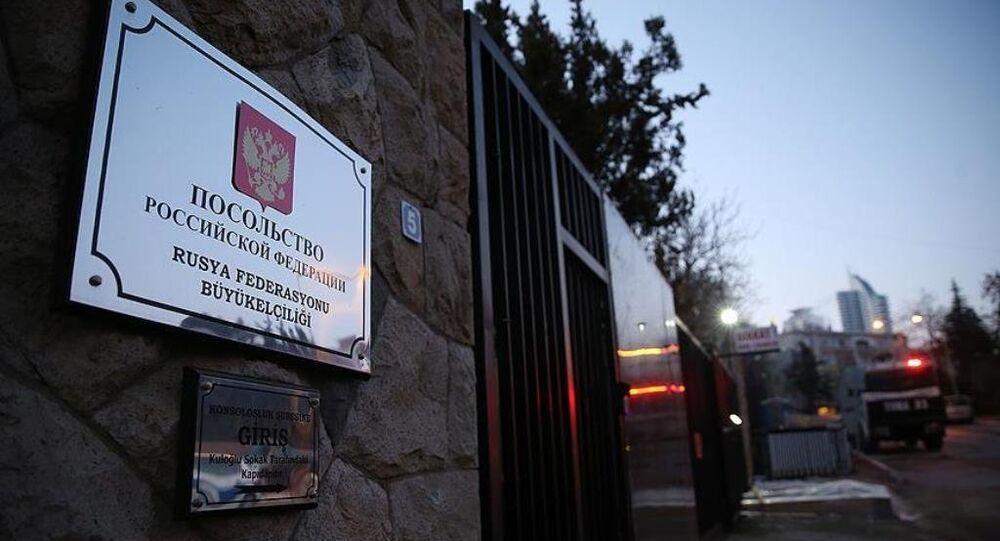 Rusya'nın Ankara Büyükelçiliği