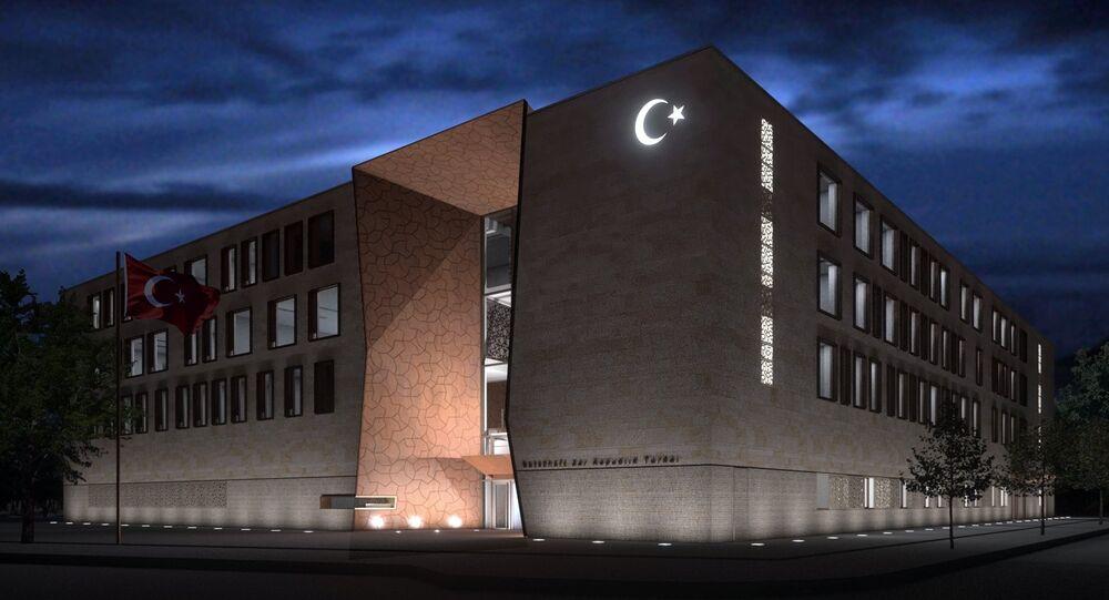 Berlin'deki Türkiye Büyükelçiliği binası