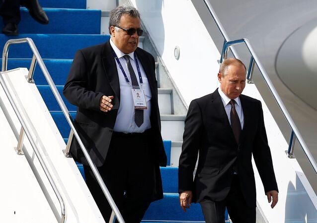 Andrey Karlov - Vladimir Putin