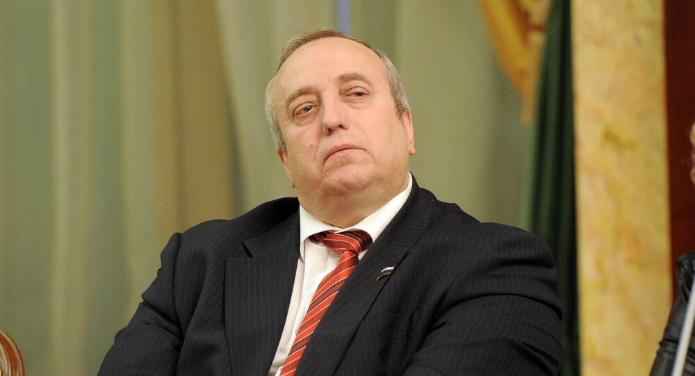 Rusya parlamentosunun üst kanadı Federasyon Konseyi Savunma ve Güvenlik Komisyonu Başkan Yardımcısı Frants Klintseviç