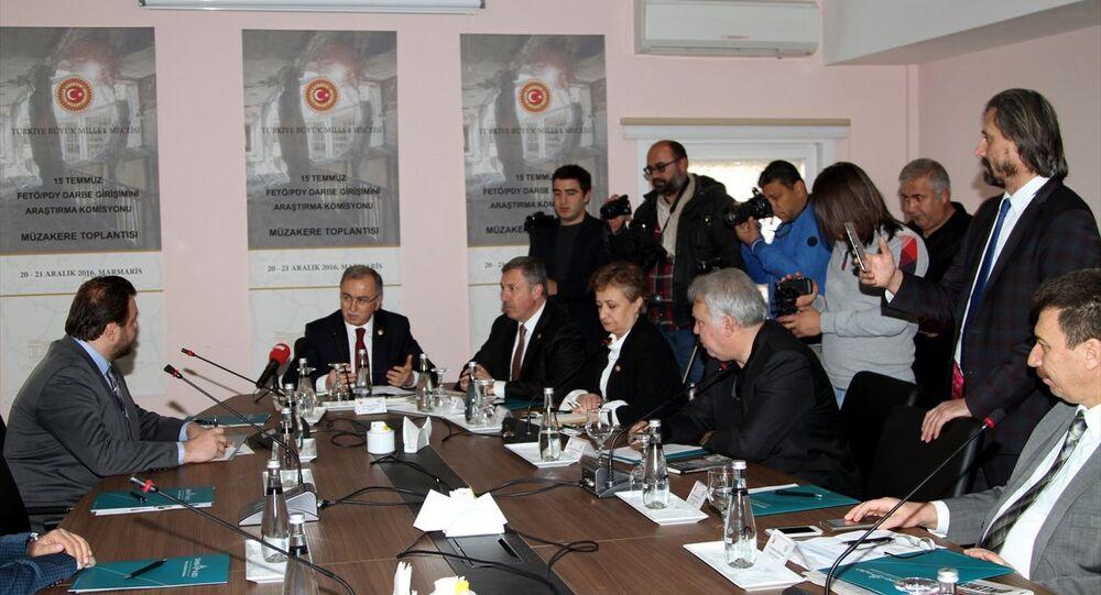 Darbe Girişimini Araştırma Komisyonu, Marmarislilerin 15 Temmuz gecesi yaşadıklarını dinledi